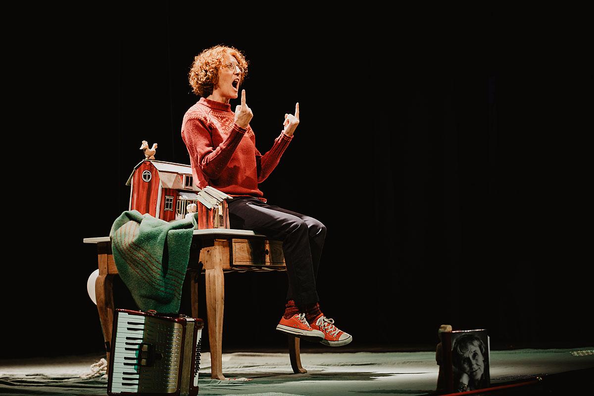 Solostück Gabi Striegl: Geschichten von Astrid Lindgren